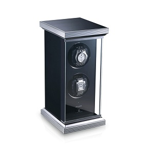 Watch winder - 2 watches - glass finish