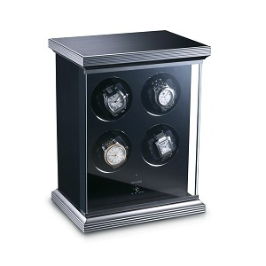 Watch winder - 4 watches - glass finish