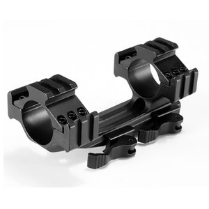 OPM-1003 Rifle scope (25.4/30 mm tube) saddle with quick release, extra Picatinny rails