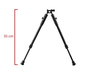 OPP-1001 Bipod adjustable 27-35 cm, Picatinny rail mount