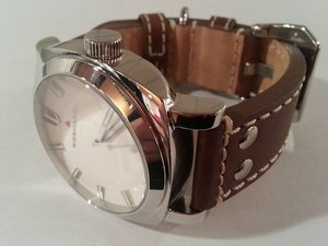 "Model ""E"", mechanical watch, Swiss Sellita SW 200.1, 26 jewels"