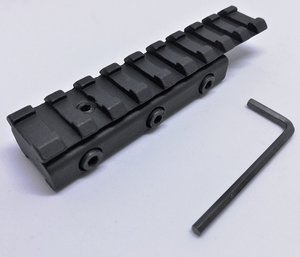 OPM-1002 Convertion rail, 10-11 mm dove tail to 20 mm Picatinny